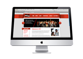 TNT Logo & Theatre Website